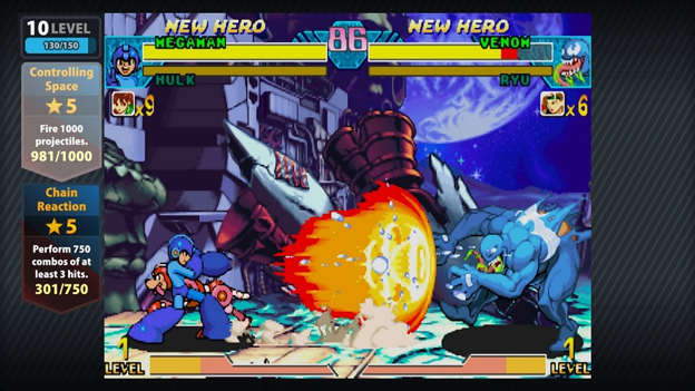 Marvel vs. Capcom Origins Screenshot