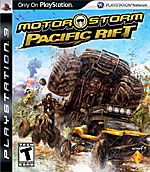 MotorStorm: Pacific Rift box art