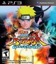 Naruto Shippuden: Ultimate Ninja Storm Generations Box Art