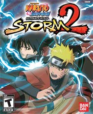Naruto: Ultimate Ninja Storm 2 box art