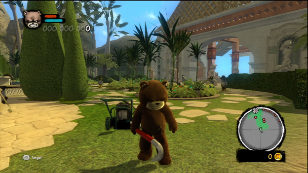 Naughty Bear: Panic in Paradise Screenshot