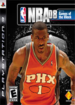 NBA 08 box art