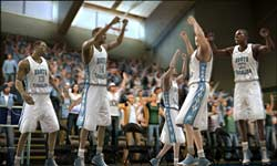 NCAA Basketball 09 screenshot