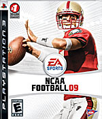 NCAA Football 09 box art