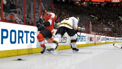 NHL 11 screenshot