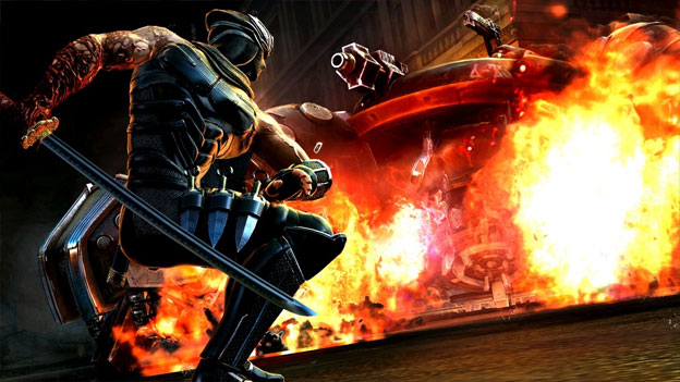 Ninja Gaiden III Screenshot