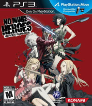 No More Heroes: Heroes' Paradise Box Art