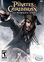 Pirates of the Caribbean: At World's End box art