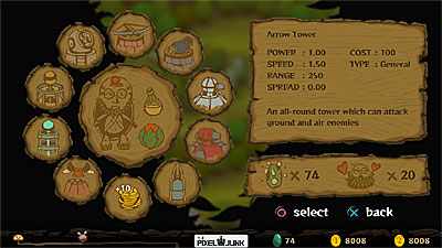 PixelJunk: Monsters screenshot