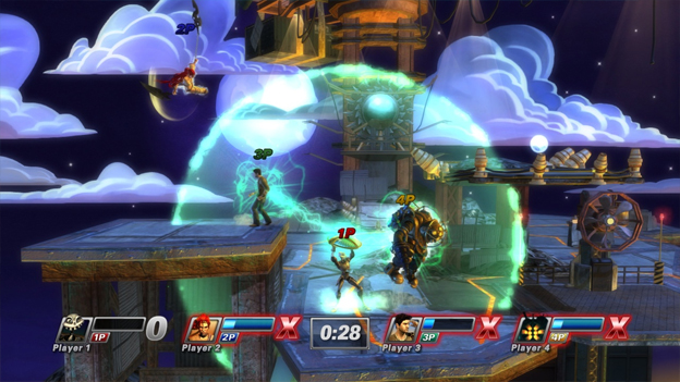 PlayStation All-Stars Battle Royale Screenshot