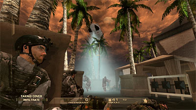 Tom Clancy's Rainbow Six: Vegas screenshot
