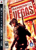 Tom Clancy's Rainbow Six: Vegas box art