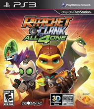 Ratchet & Clank: All 4 One box art