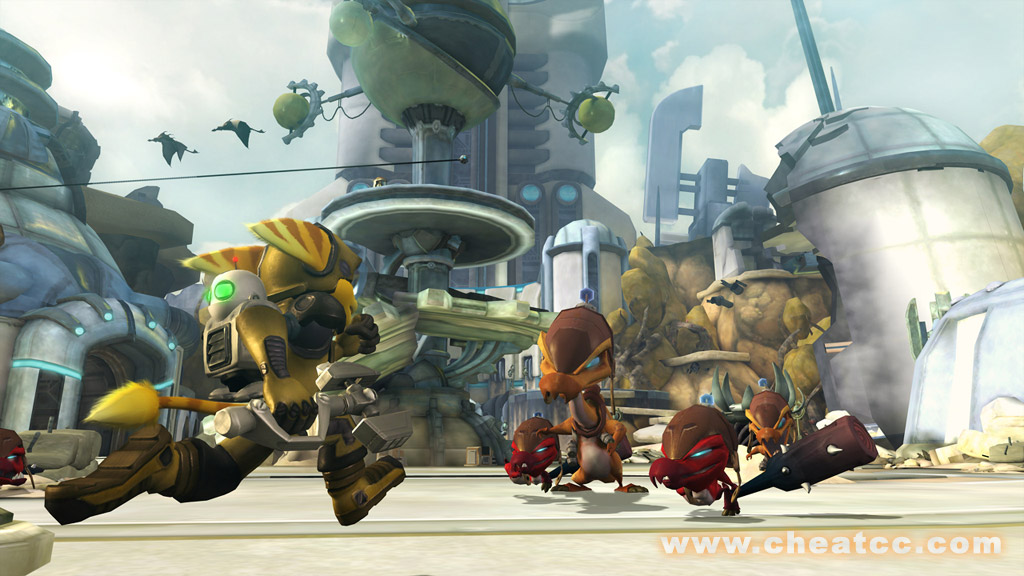 Ratchet Clank Future Tools Of Destruction Review For Playstation 3