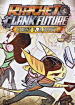 Ratchet and Clank Future: Quest for Booty box art