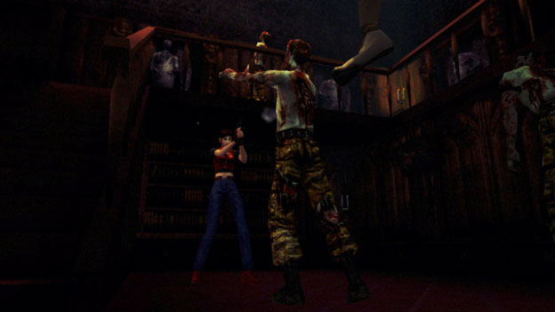 Resident Evil Code: Veronica X HD Screenshot