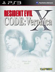 Resident Evil Code: Veronica X HD Box Art