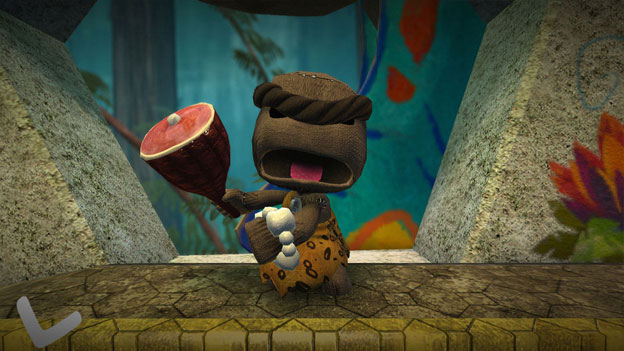 Sackboy's Prehistoric Moves Screenshot