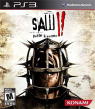 Saw II: Flesh & Blood box art