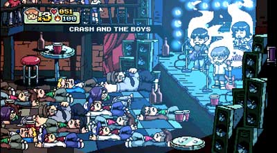 Scott Pilgrim Vs. the World screenshot
