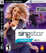 SingStar Volume 2 box art