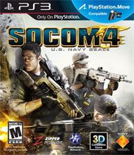 SOCOM 4: U.S. Navy SEALs Box Art