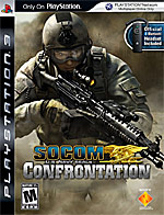 SOCOM: U.S. Navy SEALs Confrontation box art