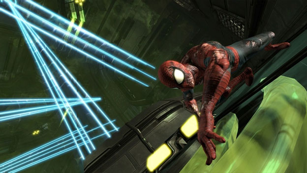 Spider-Man: Edge of Time Screenshot