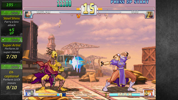 Street Fighter III: Third Strike Online Edition Screenshot