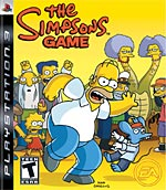The Simpsons box art