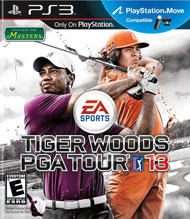 Tiger Woods PGA Tour 13 Box Art