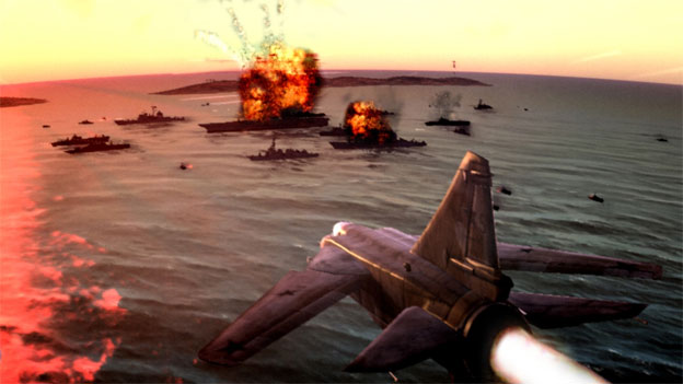 Top Gun: Hard Lock Screenshot