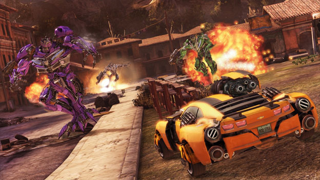 Transformers: Dark of the Moon Review for PlayStation 3 (PS3
