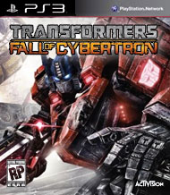 Transformers: Fall of Cybertron Box Art