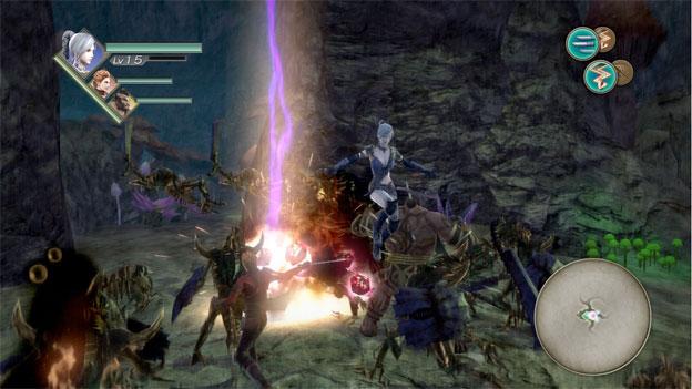 Trinity: Souls of Zill O'll Screenshot