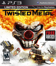 Twisted Metal Box Art