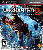 Uncharted 2: Among Thieves box art