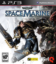 Warhammer 40,000: Space Marine Box Art