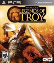 Warriors: Legends of Troy Box Art