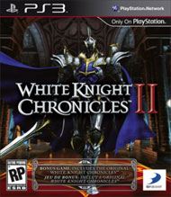 White Knight Chronicles II Box Art