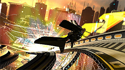 WipEout HD screenshot