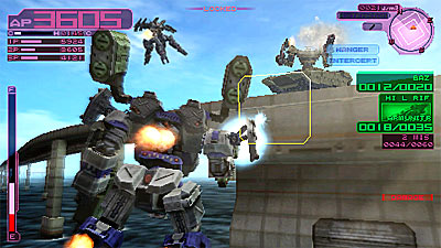 Armored Core Last Raven Portable Review For Playstation Portable Psp