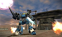 Armored Core: Silent Line Portable screenshot