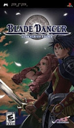 Blade Dancer: Lineage Of Light  PSP box art