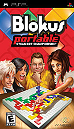 Blokus Portable: Steambot Championship box art