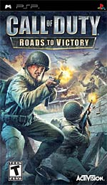 Call of Duty: Roads to Victory box art