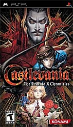 Castlevania: The Dracula X Chronicles box art