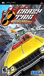 Crazy Taxi: Fare Wars box art