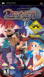 Disgaea: Afternoon of Darkness box art