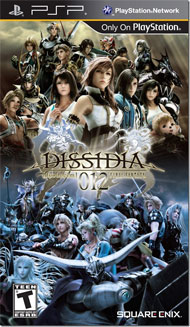 Dissidia 012 Duodecim Final Fantasy Box Art